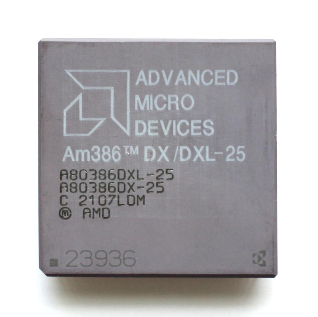 AMD Am386DX-25