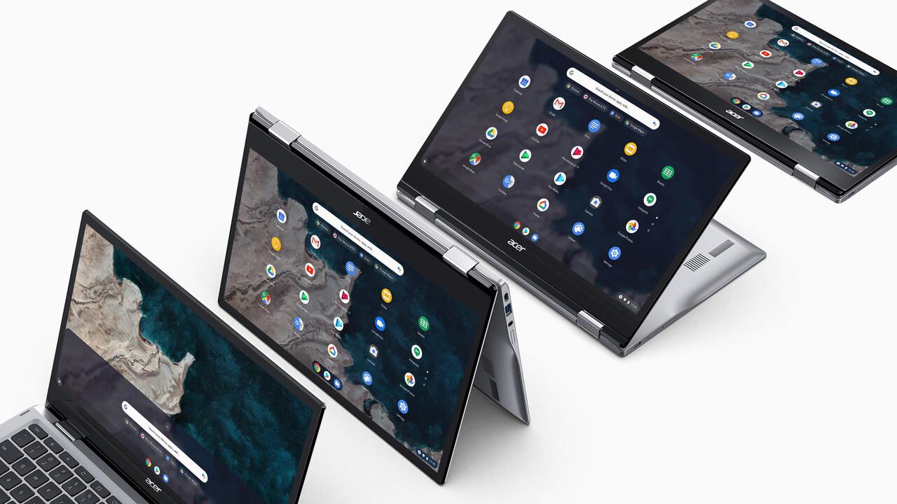 ARM-Chromebook: Acer Chromebook Spin 513 nutzt Snapdragon 7c