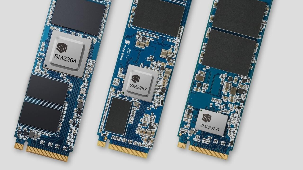 SSD-Controller mit PCIe 4.0: Silicon Motion liefert Alternativen zu Phison E16