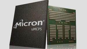 uMCP5: Micron bietet LPDDR5 und UFS 3.1 in einem Chip-Gehäuse