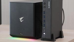 Mini-PCs mit AMD Ryzen Pro: Gigabyte bietet beim Brix Pro alternativ auch AMD-CPU