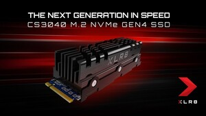 PNY XLR8 CS3040: PCIe-4.0-SSD mit 5.600 MB/s und Kühleroption
