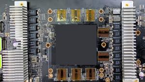 Radeon RX 6000: Erstes Bild eines Prototyp-PCBs mit Big-Navi-GPU