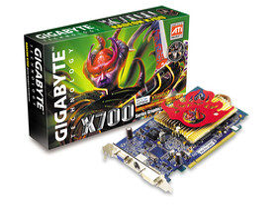 Gigabyte X700 mit Heatpipe