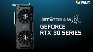 GeForce RTX 3090, 3080 & 3070: Palit kündigt Custom Designs der Serie JetStream an