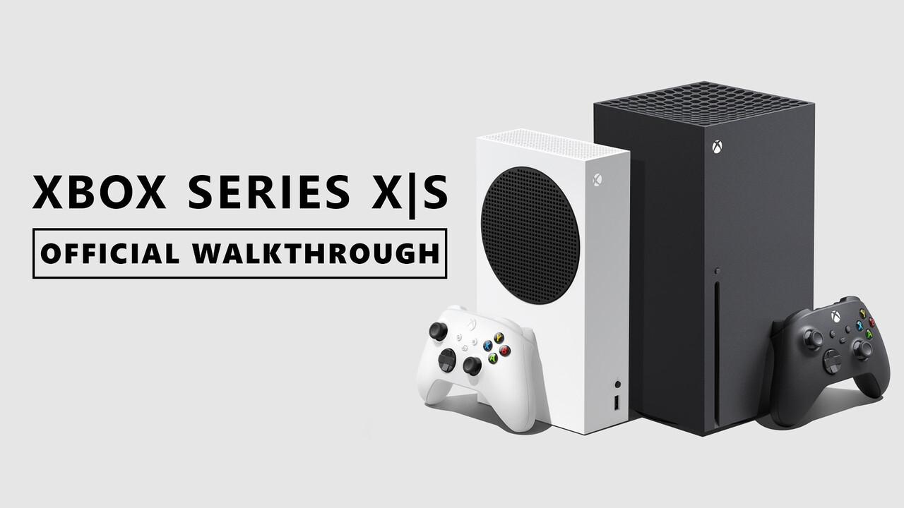 Xbox Series X S: Microsoft demonstriert Funktionen im Detail