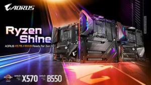 AMD Ryzen 5000: Gigabyte aktualisiert 500er- und 400er-Serie für Zen 3