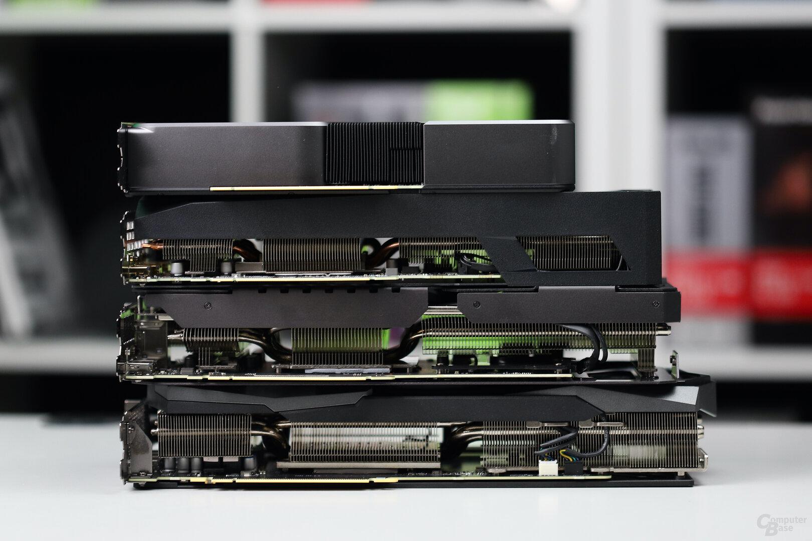 GeForce RTX 3070: Custom-Designs von Asus, Gigabyte und MSI im Test