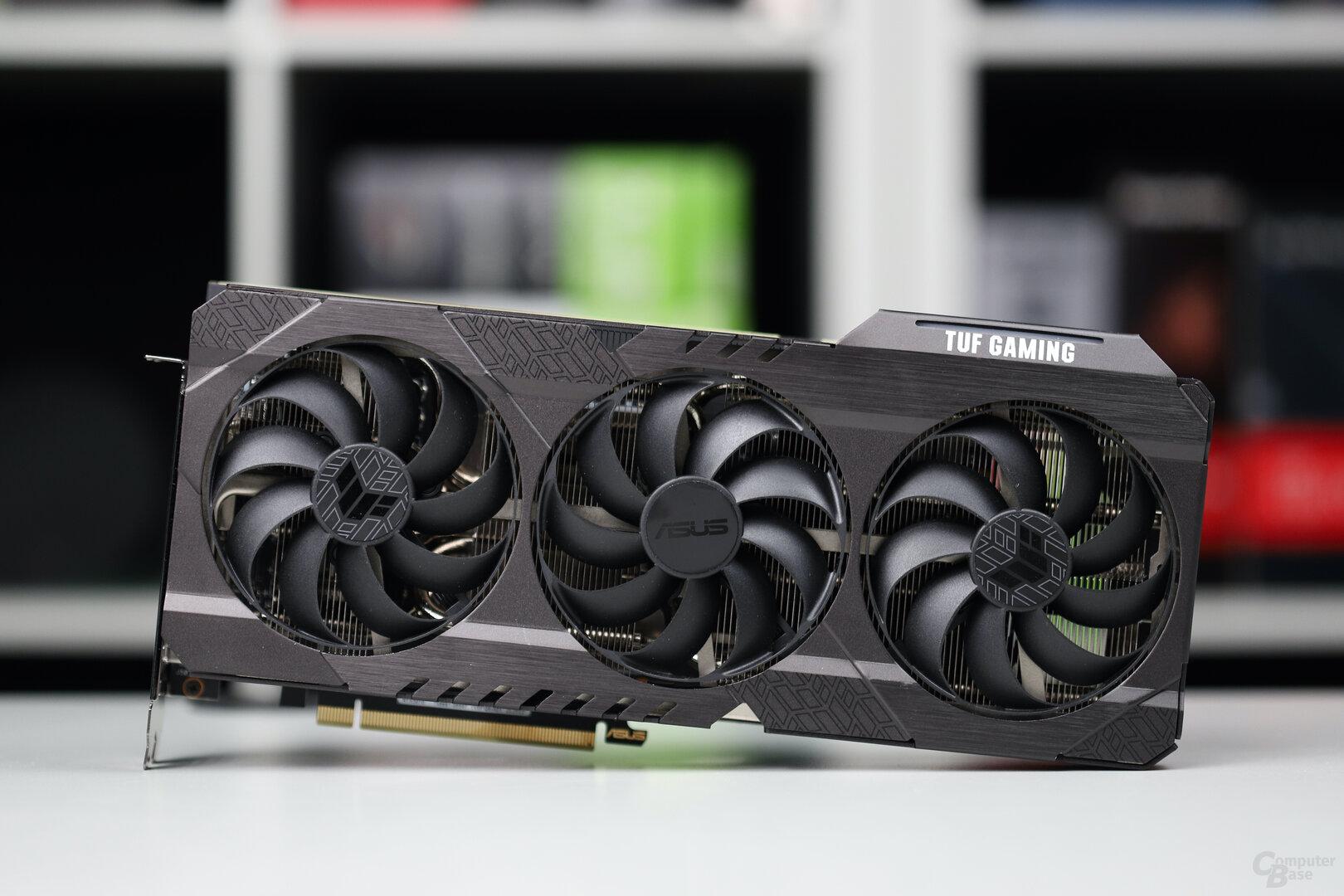 Die Asus GeForce RTX 3070 TUF Gaming OC