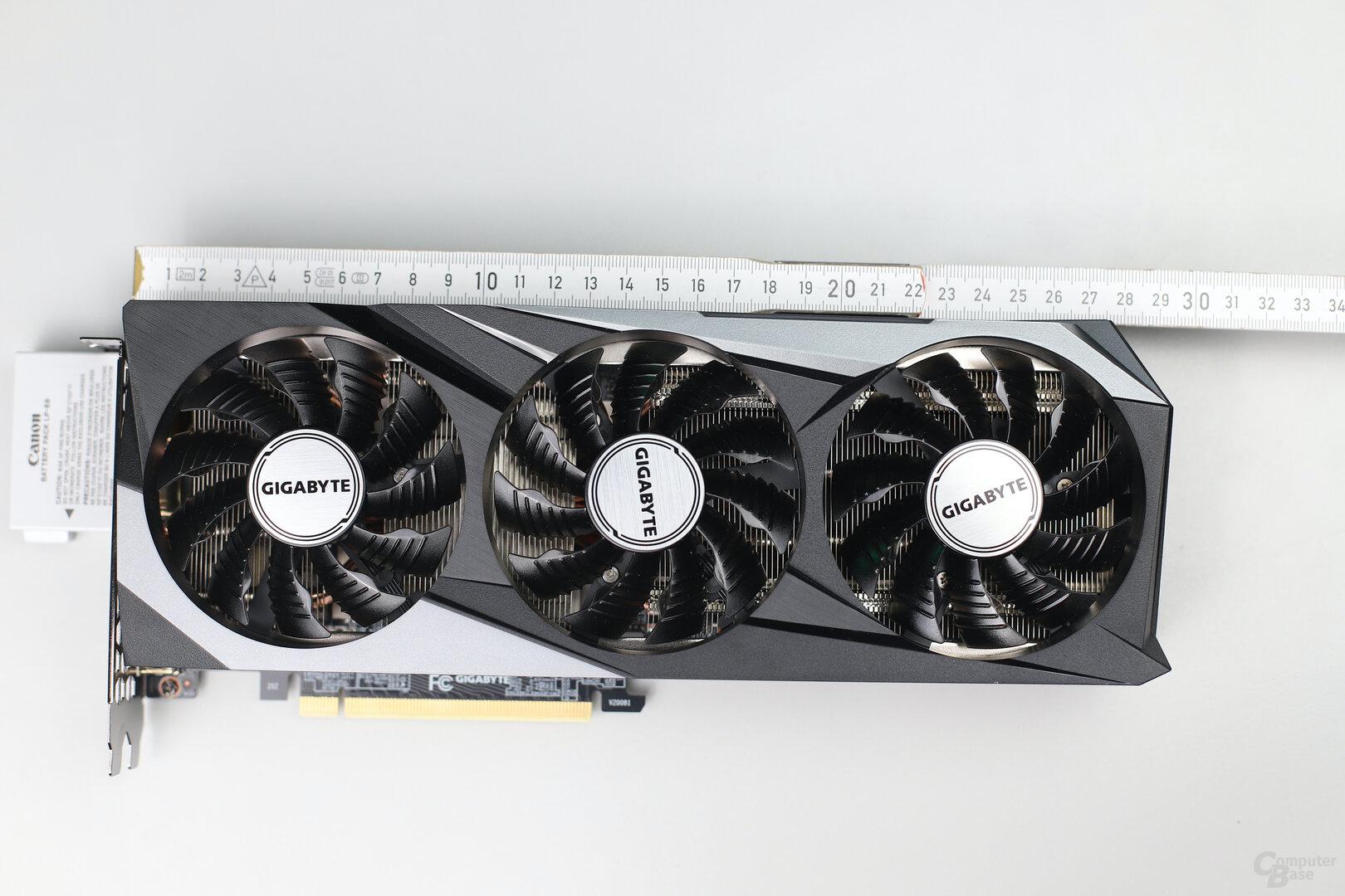 Die Gigabyte GeForce RTX 3070 Gaming OC
