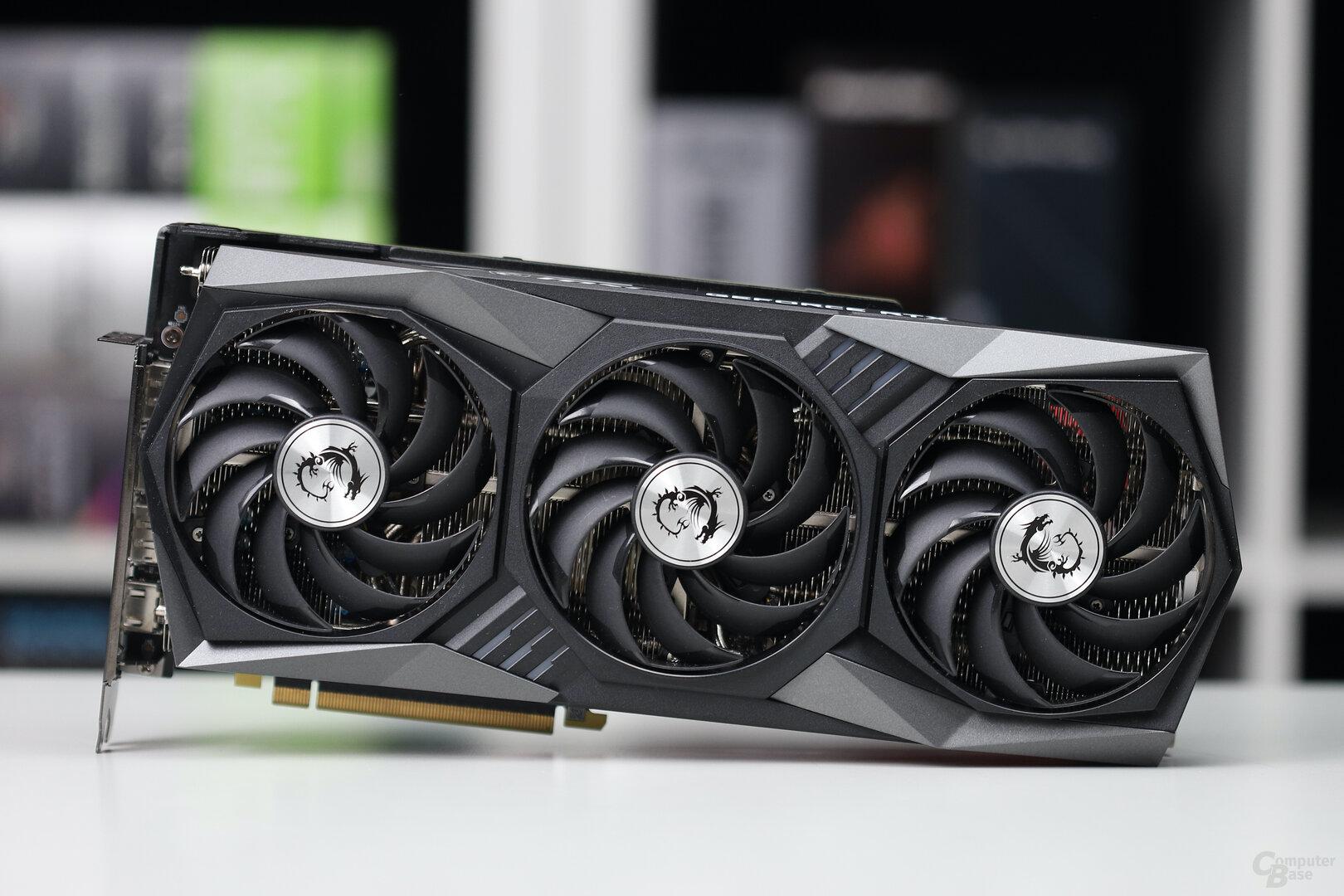 Die MSI GeForce RTX 3070 Gaming OC Trio X