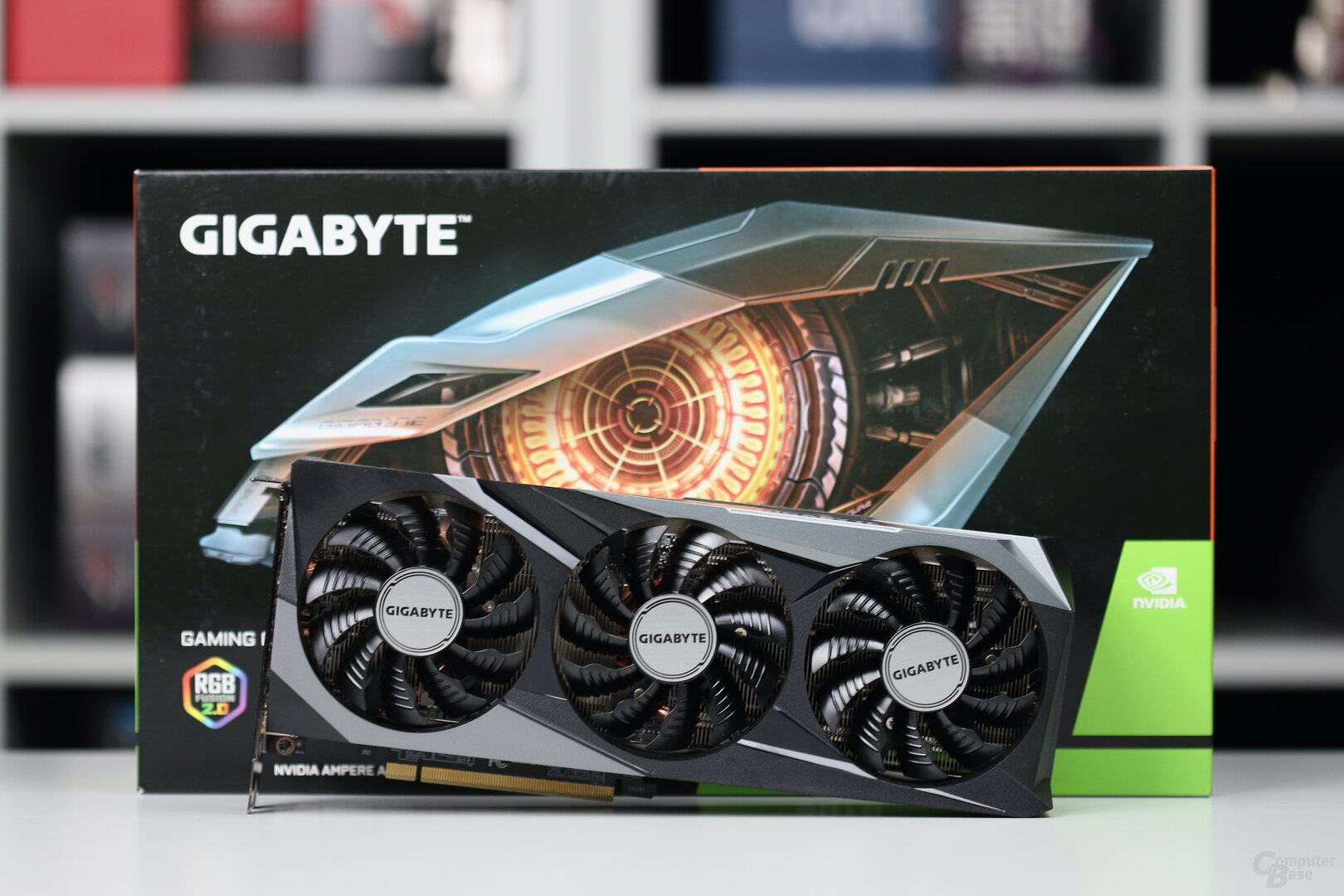 Die Gigabyte GeForce RTX 3070 Gaming OC im Test