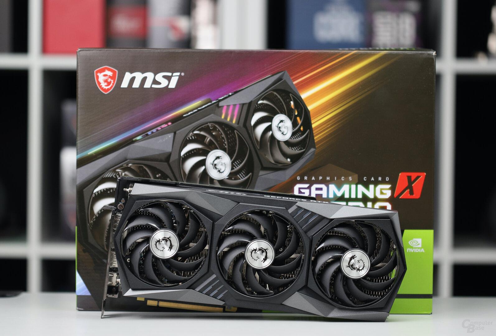 Die MSI GeForce RTX 3070 Gaming OC Trio X im Test