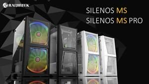 Raijintek Silenos MS & MS Pro: Große Lüfter treffen großes Mesh