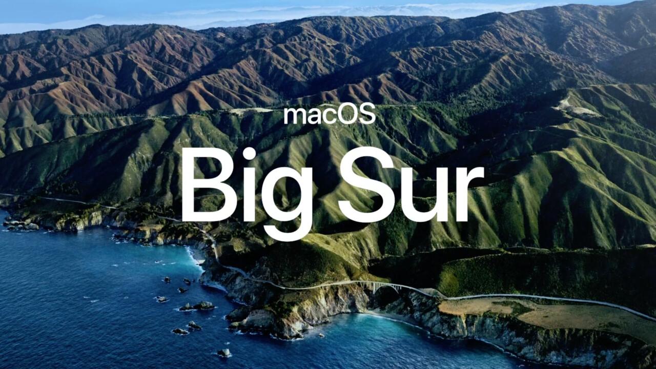 macOS Big Sur 11.0.1: Apple gibt die erste Beta für Entwickler frei