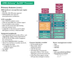 Einige Features des AMD Alchemy Au1200