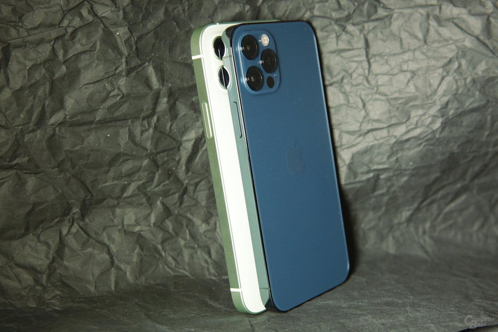 Mattes vs. glänzendes Design bei iPhone 12 und iPhone 12 Pro