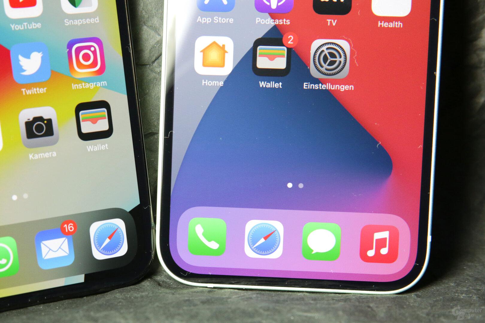 Vor allem das iPhone 12 profitiert vom Wechsel zu OLED
