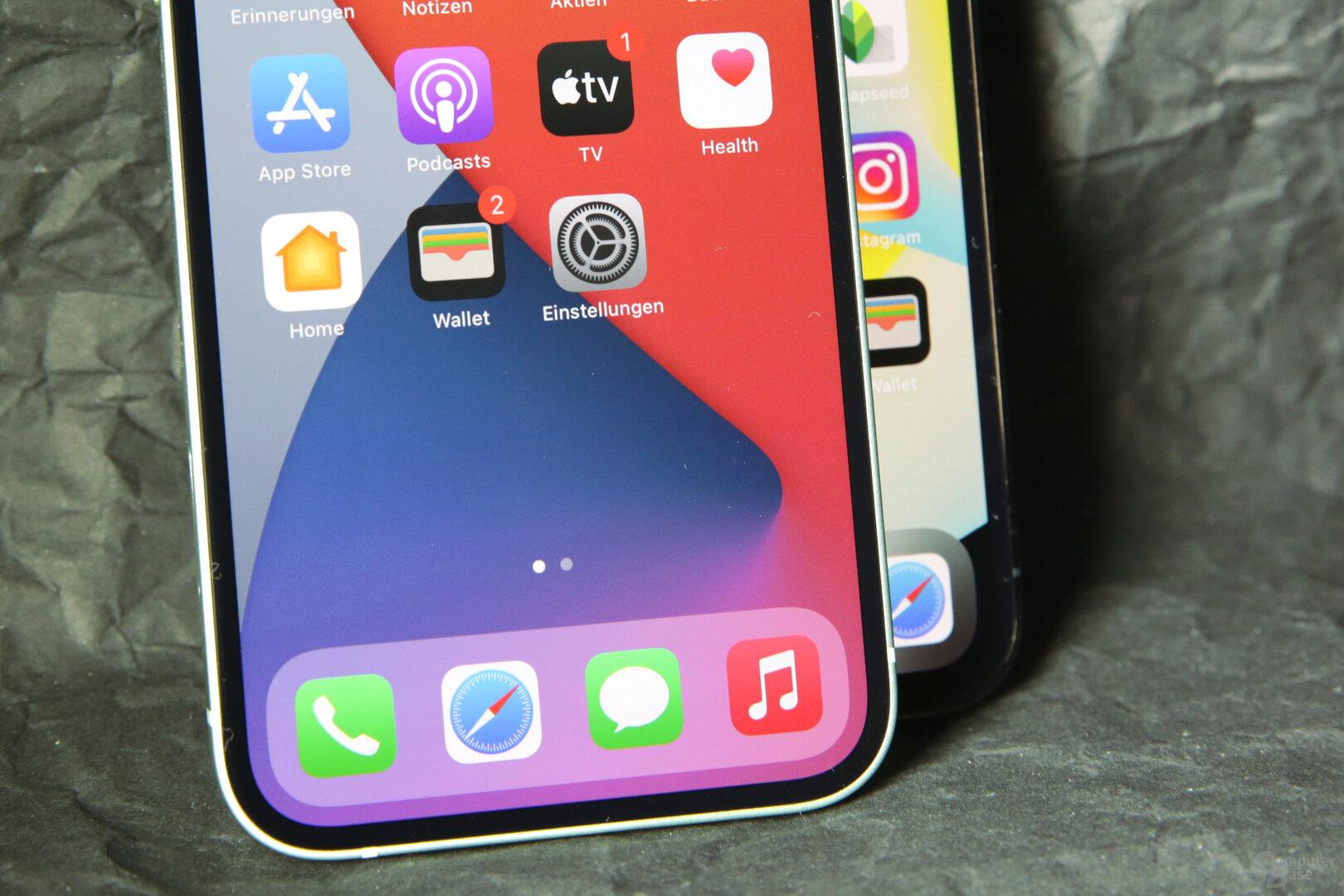 Reduzierte Displayränder beim iPhone 12