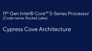 Cypress Cove: Rocket Lake mischt Ice-Lake-Kerne mit Tiger-Lake-Grafik
