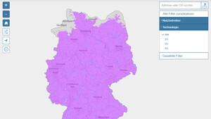 Bundesnetzagentur: Karte für Mobilfunk-Netzabdeckung gestartet