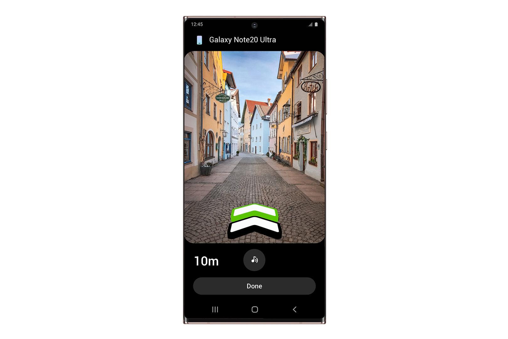 SmartThings Find in der SmartThings-App