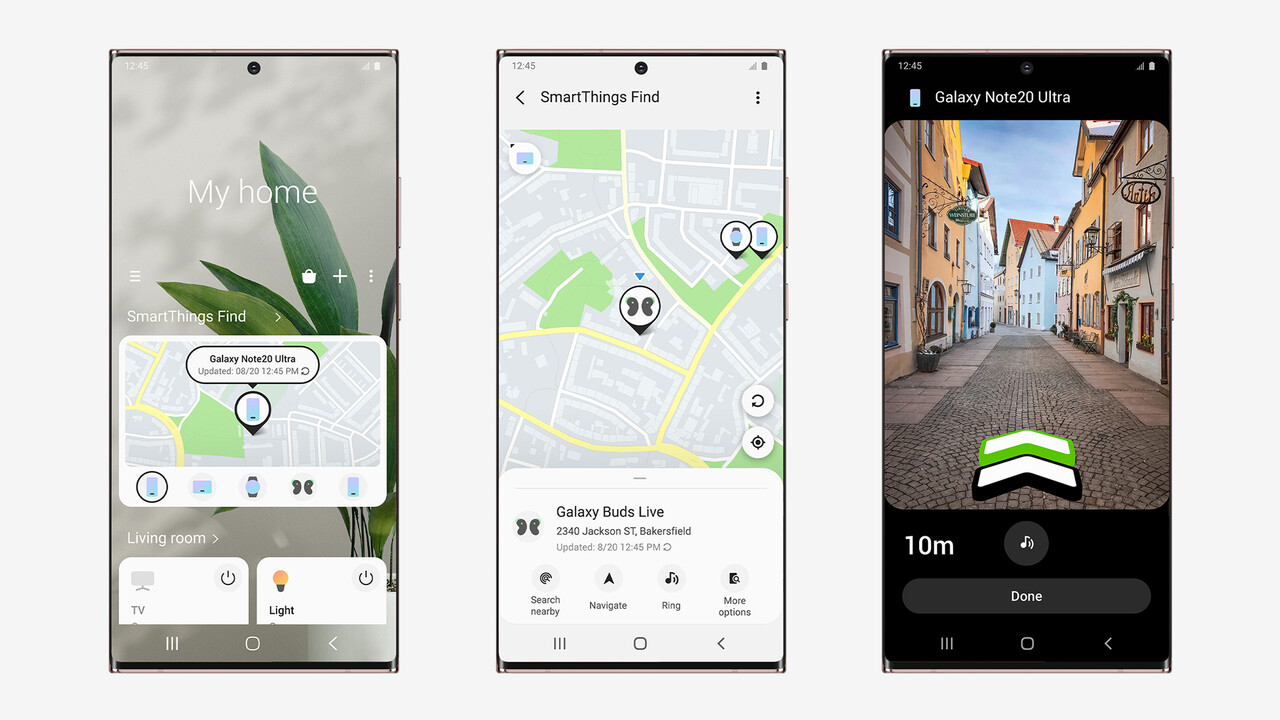 SmartThings Find: Samsung hilft bei der Suche nach verlegten Geräten