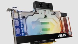 Asus EKWB Series: GeForce RTX 3070/3080/3090 mit Wasserkühler