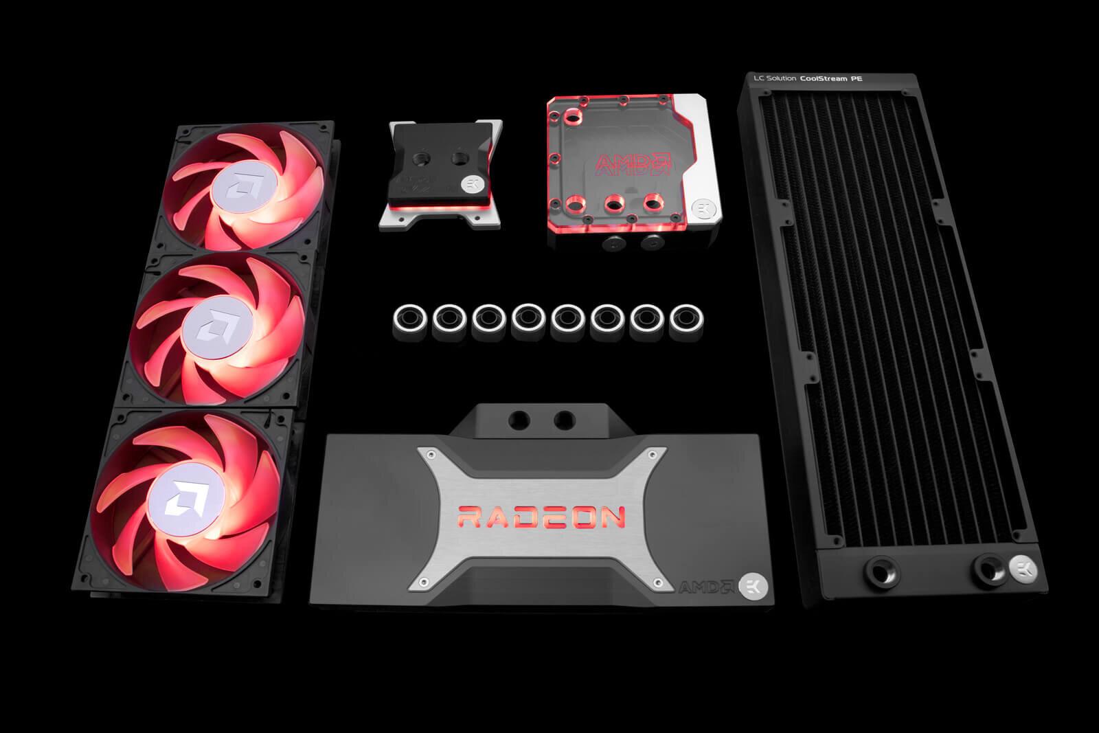 EK-Quantum Power Kit RX 6800/6900 D-RGB P360 – AMD Edition