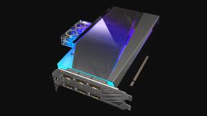Aorus Xtreme Waterforce WB: Gigabyte setzt die GeForce RTX 3080 unter Wasser