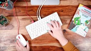 Raspberry Pi 400: Tastatur integriert den Einplatinencomputer