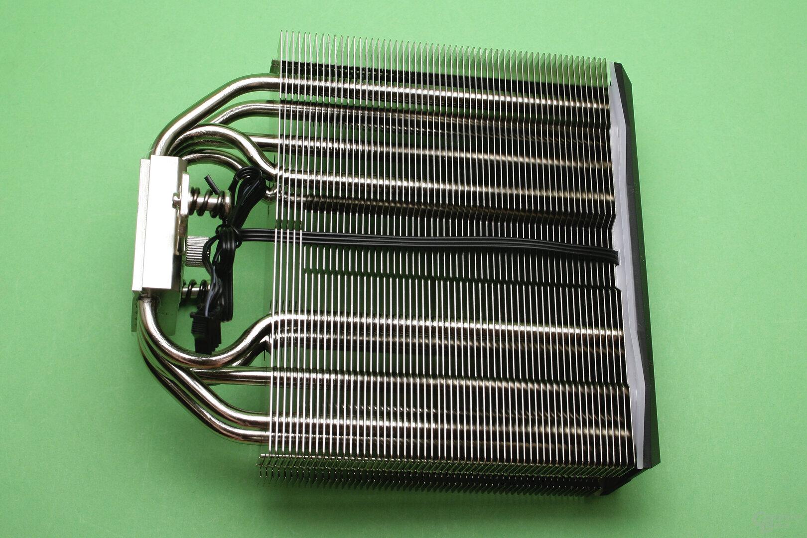 Deepcool AS500: Detailansicht des Kühlturms