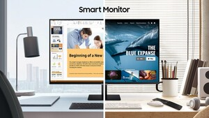 Smart Monitor: Samsung-Monitore wie Smart-TVs ohne Tuner
