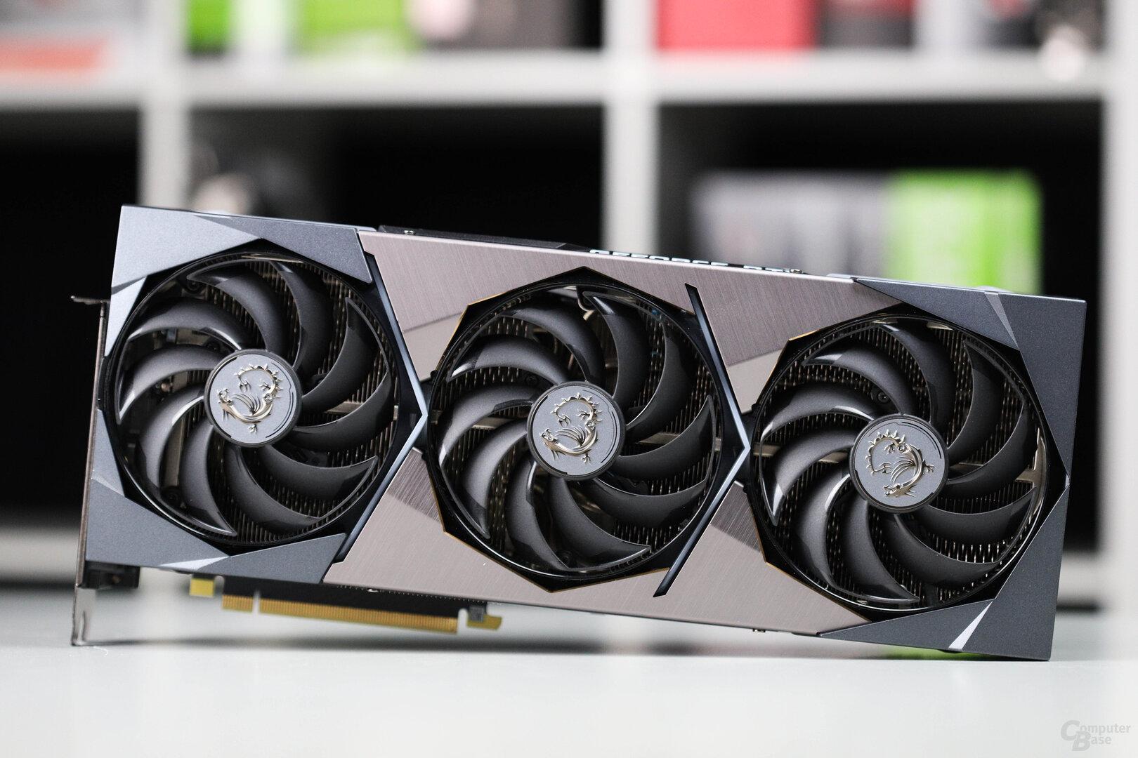 Die MSI GeForce RTX 3090 Suprim X im Test