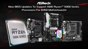 AMD Ryzen 5000: ASRock bringt Zen 3 per BIOS-Update auf B450
