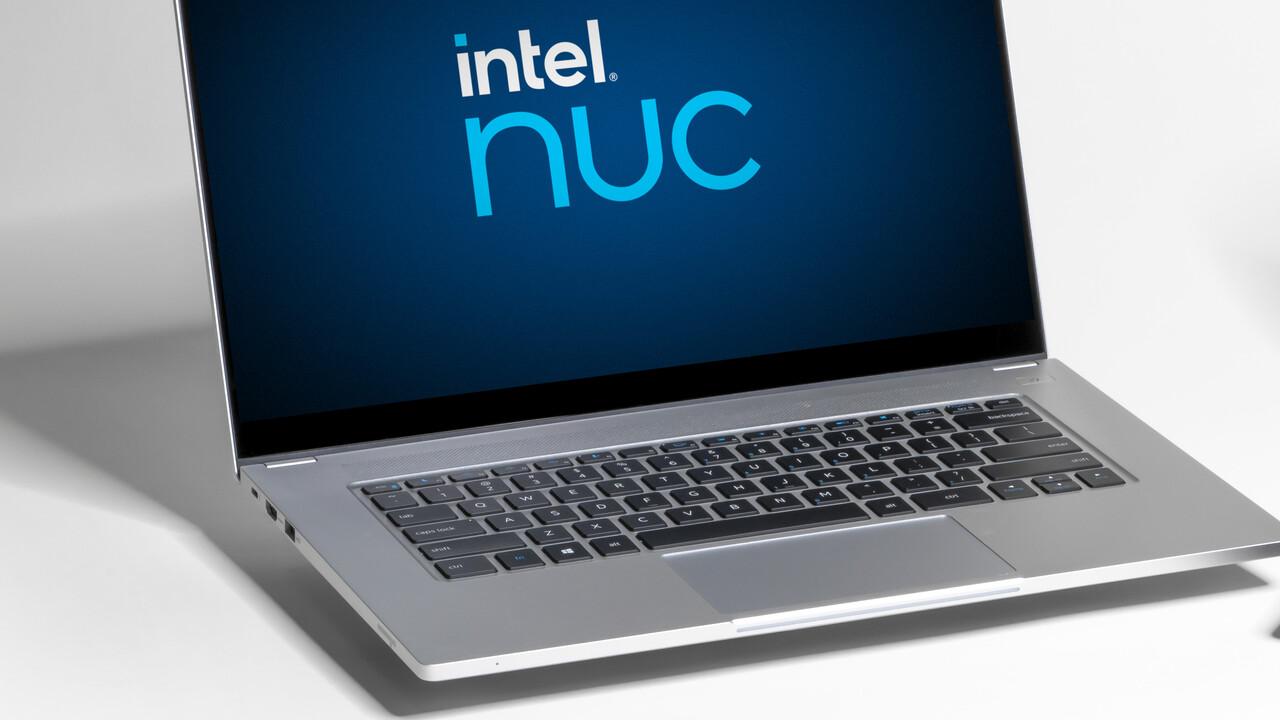 Schenker Vision 15: Das erste Referenz-Notebook mit Intels NUC M15 Kit