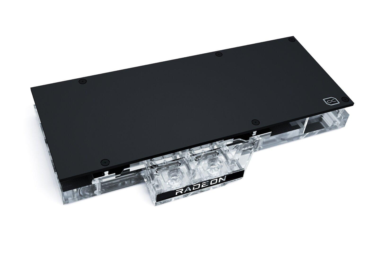 Alphacool Eisblock Aurora Acryl GPX-A für Radeon RX 6800 (XT) im Referenzdesign