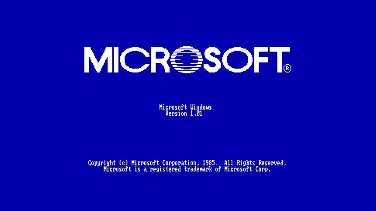 Microsoft-Jubiläum: Heute vor 35 Jahren erschien Windows 1.0
