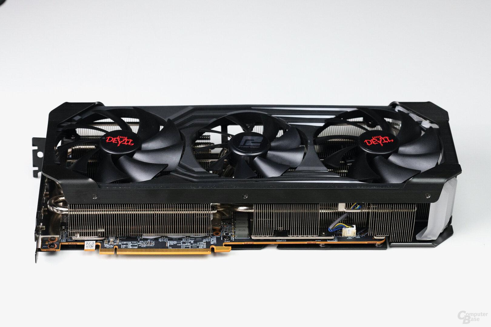 Die PowerColor Radeon RX 6800 XT Red Devil