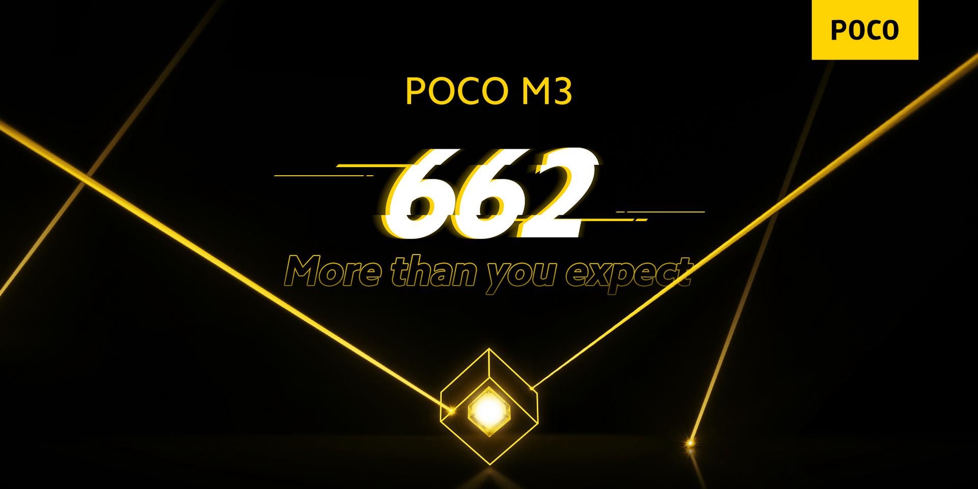Das Poco M3 basiert auf einem Snapdragon 662 von Qualcomm