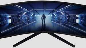 Krummes Ding: Samsung C34G55T kombiniert UWQHD mit 165 Hz und 1.000R