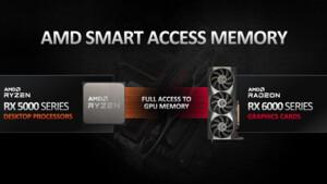 AMD Smart Access Memory: BIOS-Update schaltet Funktion auch für X470 und B450 frei