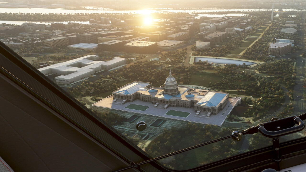Microsoft Flight Simulator: Das kostenlose World Update II: USA hebt ab