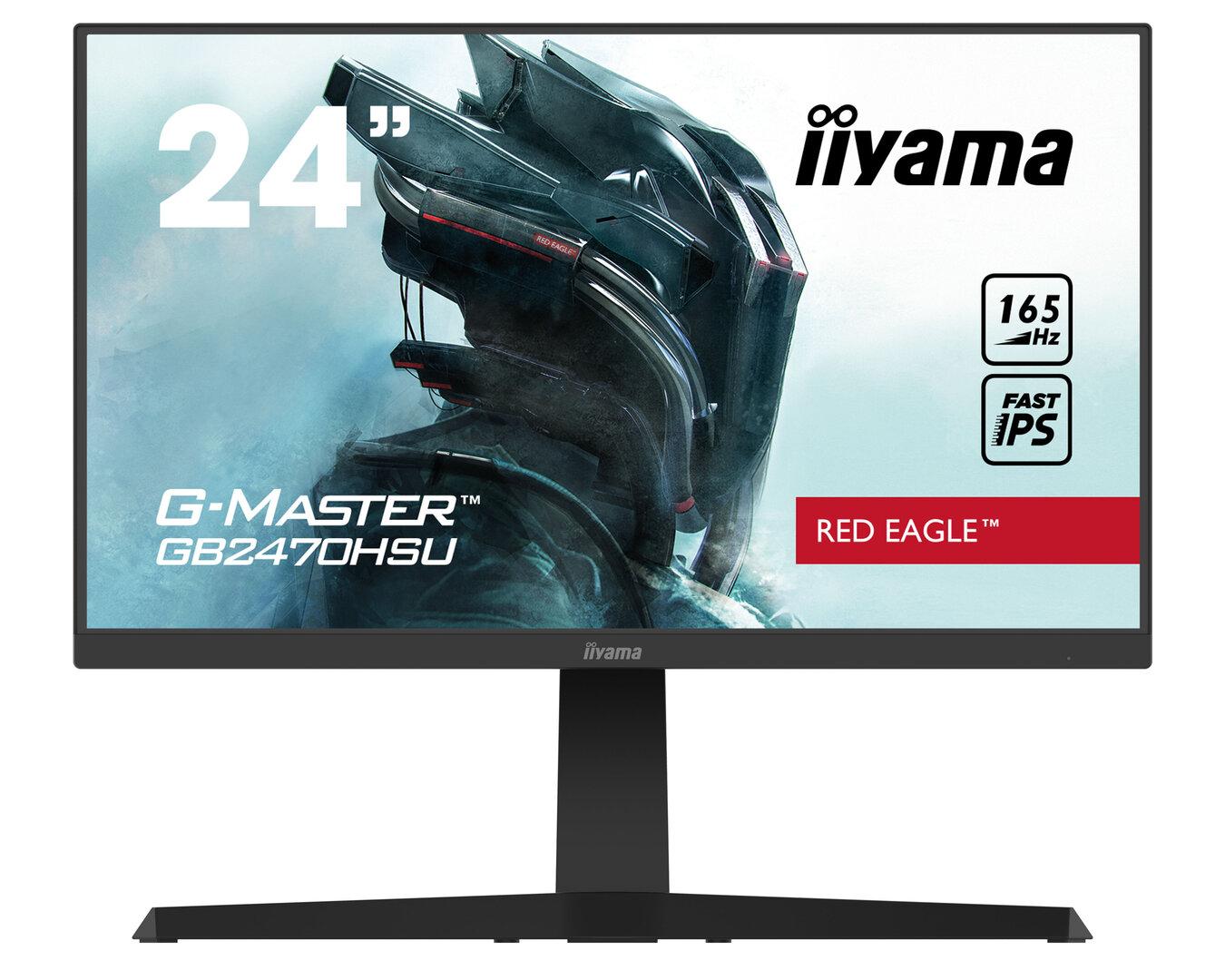iiyama G-Master GB2470HSU Roter Adler