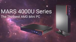 ASRock Mars 4000U: Renoir-APUs im neuen Mini-PC mit nur 26 mm Höhe