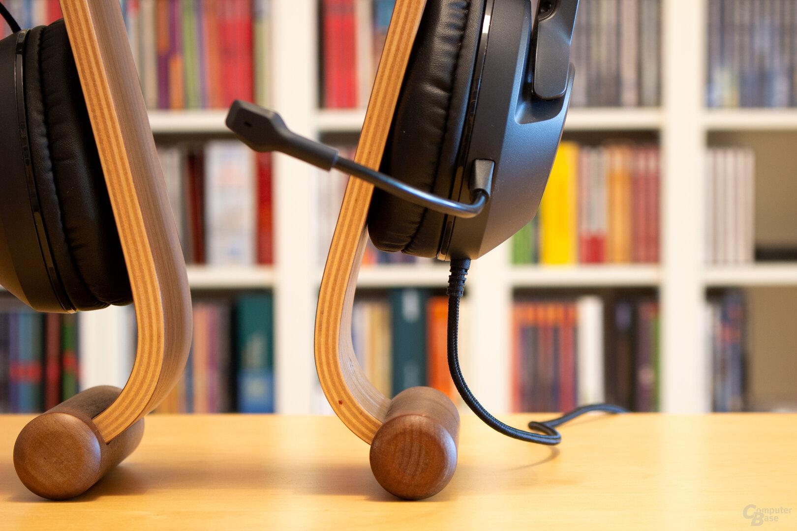 Die Kabel sind beim ELO Stereo X und ELO 7.1 USB fest angebracht