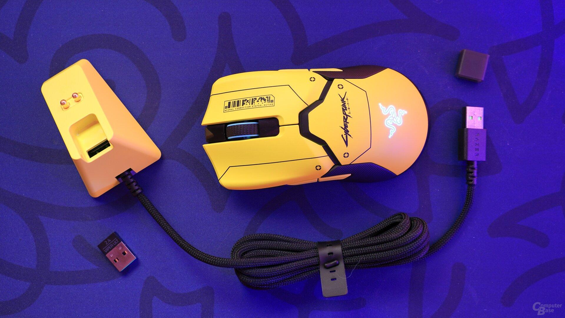 Razer Viper Ultimate (Cyberpunk-Edition)