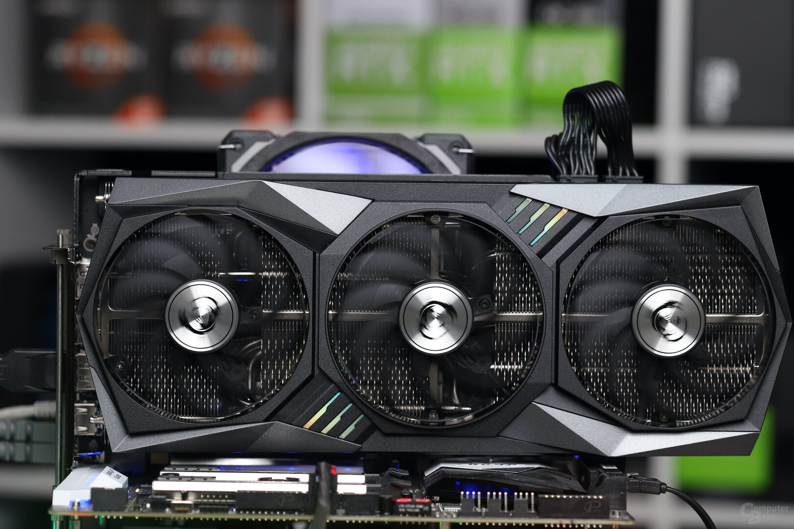 Die MSI GeForce RTX 3060 Ti Gaming X