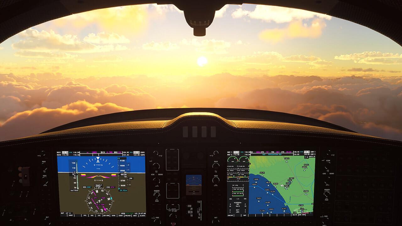 Microsoft Flight Simulator: VR-Modus per Update noch im Dezember geplant