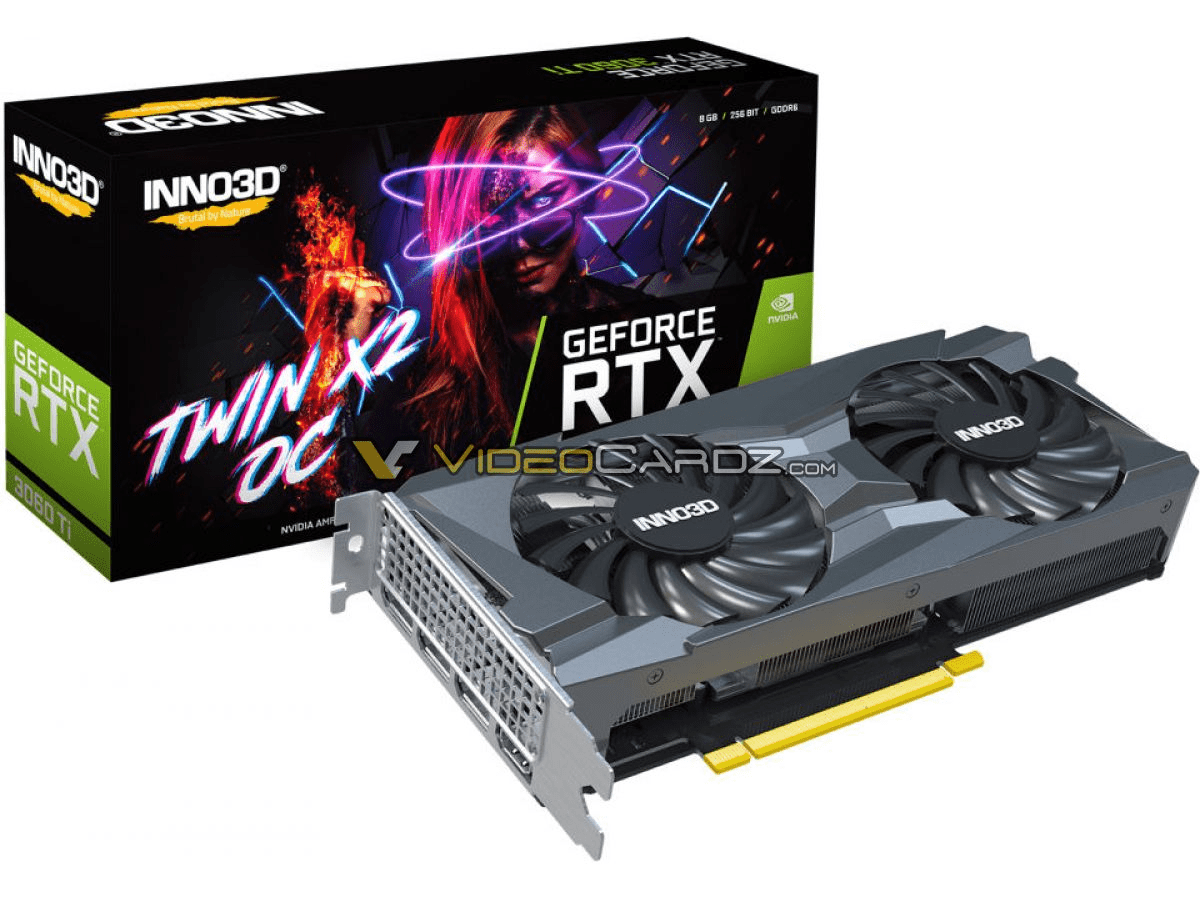 Inno3D GeForce RTX 3060 Ti Twin X2